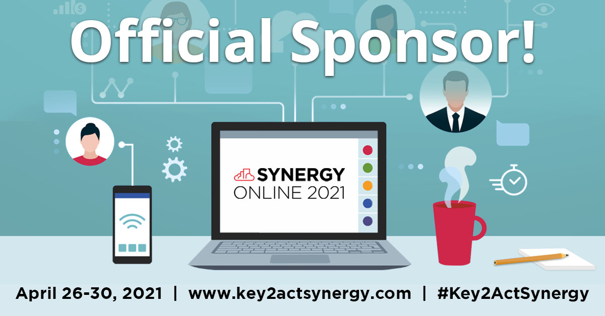 Key2Act Synergy Conference Sponsor Poster