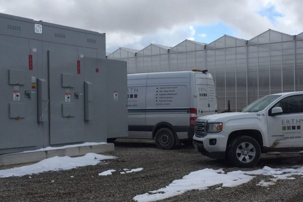 Substation Design Build Project for Cannabis Cultivation Facility