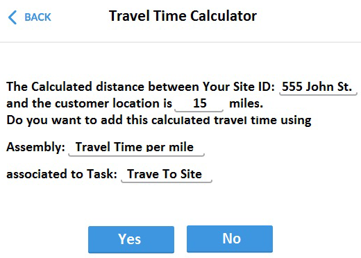 time travel calculator erth
